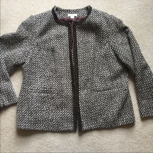 Jackets & Blazers - - Coldwater Creek shaped career blazer size 22